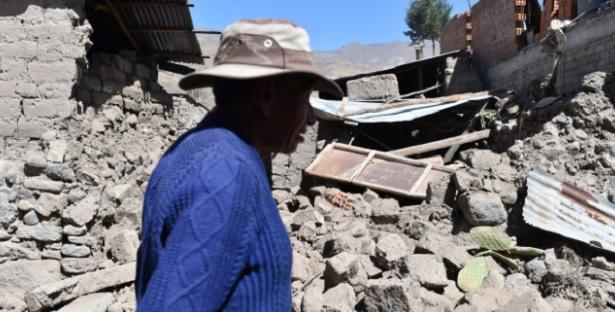 زلزال بقوة 1ر7 درجات يضرب جنوب البيرو