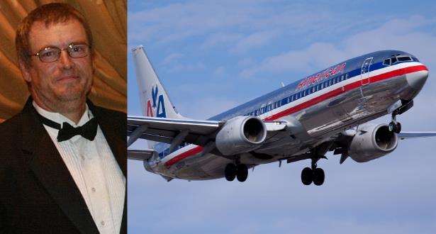 """ربان يفارق الحياة أثناء قيادته طائرة تابعة لـ """"أمريكان إيرلاينز"""""""