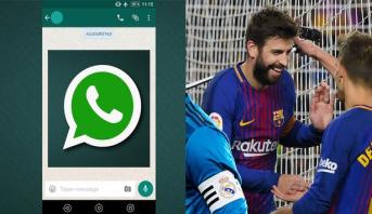 """''بيكي'' يكشف أسرار الدردشة بينه وبين لاعبين من ريال مدريد عبر """"واتساب"""""""