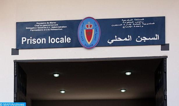 La DGAPR nie toute tension parmi les détenus de la prison locale Ain Sebaa 1