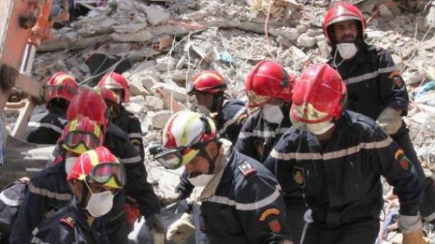 Meknès: une grue s'effondre sur le toit d'une société de textile faisant onze blessés