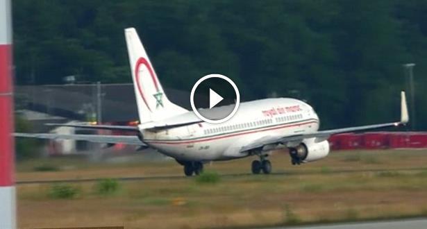 Vidéo: décollage difficile pour un avion Royal Air Maroc à l'aéroport de Francfort