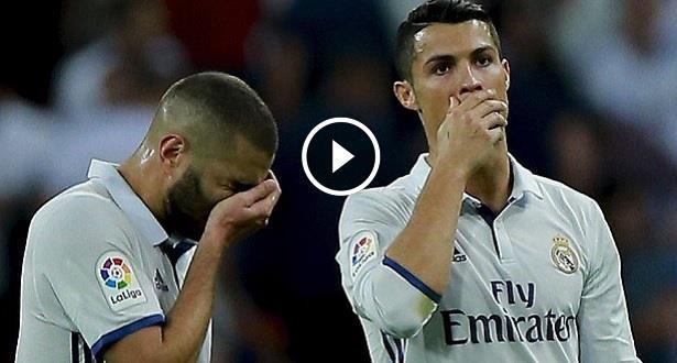 Vidéo: la série du Real de Zidane stoppée par Villareal