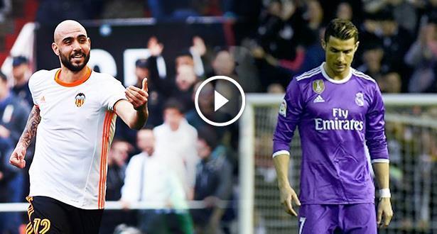 """فيديو .. هدفان سريعان وبداية قوية لـ """"الخفافيش"""" أمام ريال مدريد"""