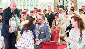 Le Roi Mohammed VI préside à Casablanca la cérémonie de fin d'année scolaire de l'Ecole royale