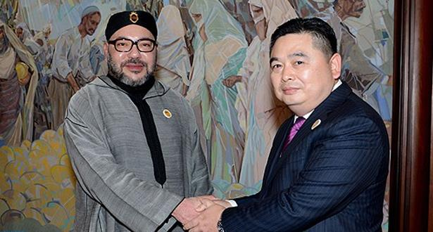 """رئيس مجموعة """"هيتي"""": المغرب يوفر مناخا """"مثاليا"""" للأعمال بالنسبة للمستثمرين الصينيين"""