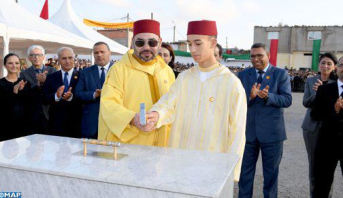 القنيطرة .. الملك محمد السادس يعطي انطلاقة إنجاز مشاريع تضامنية