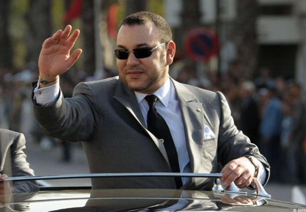 Arrivée du Roi Mohammed VI à Saint Louis au nord du Sénégal