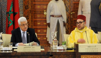 الرئيس محمود عباس يشيد بجهود ومساهمات الملك محمد السادس في الدفاع عن القدس