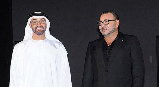 الملك محمد السادس يجري مباحثات مع الشيخ محمد بن زايد Roi_zayed_alnahyan
