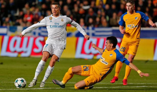 Ligue des champions : Cristiano Ronaldo s'envole en tête du classement des buteurs
