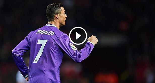 فيديو .. تمريرة مُتقنة من مارسيلو ورأسية رائعة من رونالدو تقلص الفارق للريال أمام فالنسيا