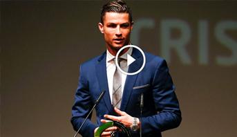 فيديو .. كريستيانو رونالدو أفضل لاعب فى البرتغال لعام 2016