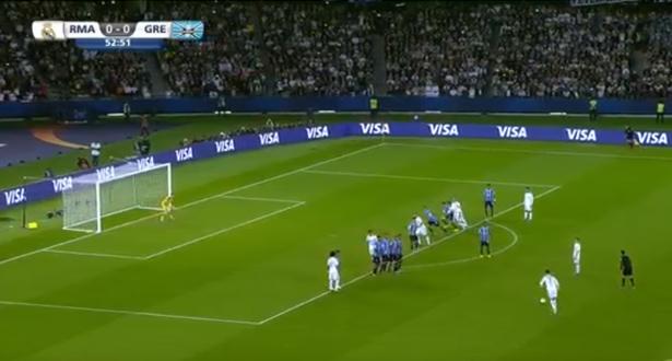 رونالدو يرسل كرة لا تصد ولا ترد ويوقع هدف التقدم للريال