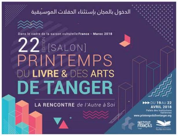 Le 22è Printemps du Livre et des Arts ouvre ses portes à Tanger