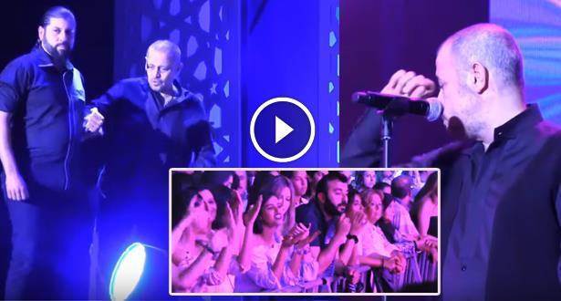 """فيديو مؤثر .. """"سلطان الطرب"""" يتحدى المرض ويطلب المسامحة من الجمهور المغربي"""