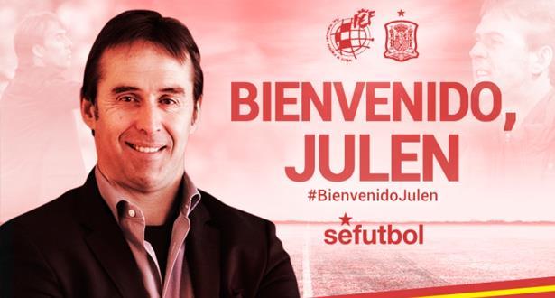 Julen Lopetegui, nouvel entraîneur de la sélection espagnole