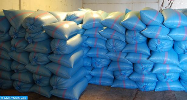 حجز 900 طن من القمح الصلب غير صالح للاستهلاك بمكناس