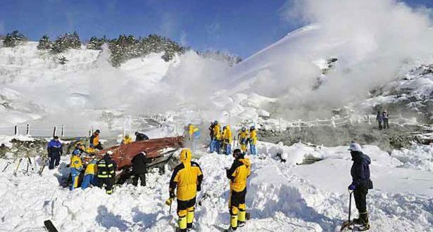 فقدان شخصين عقب انهيار ثلجي في سويسرا