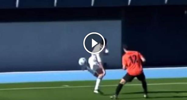 Vidéo: Théo Zidane sur les traces de son père