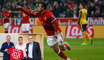 رسميا .. ألكانتارا يُمدد عقده مع بايرن ميونيخ