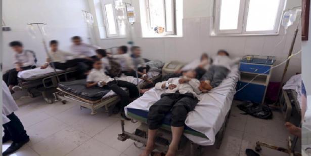 عمالة الصخيرات – تمارة..نقل 22 تلميذا إلى المستشفى بعد إصابتهم باختناق