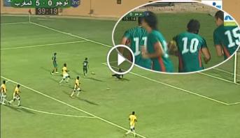 فيديو من الذاكرة .. عندما هزم الأولمبي المغربي الطوغو بسباعية نظيفة