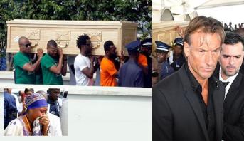 Côte d'Ivoire: environ un millier de personnes accueillent le corps de Cheick Tioté
