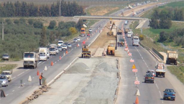 Casablanca: début des travaux de dédoublement de la RN9 entre Lahraouiyne et Nouaceur