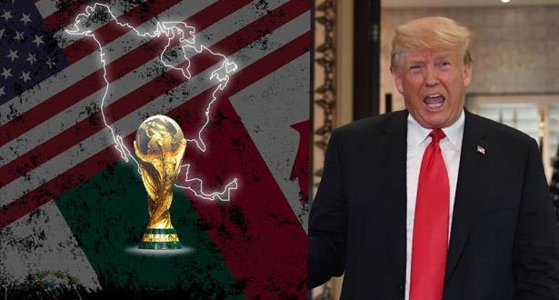 ترمب يعلق على فوز الملف المشترك بتنظيم مونديال 2026