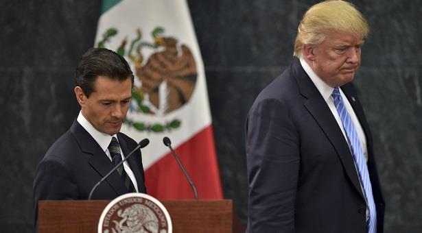 الرئيس المكسيكي يلغي زيارة لواشنطن بسبب قضية الجدار