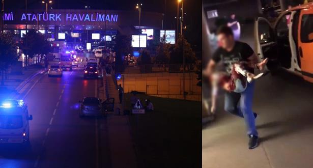 تحويل بعض الرحلات المتجهة لمطار أتاتورك باسطنبول بعد الهجوم الدامي