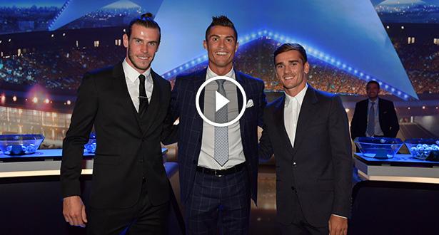 Vidéo: Cristiano Ronaldo élu meilleur joueur UEFA de la saison écoulée