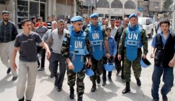 إطلاق نار على فريق أمني دولي بموقع هجوم كيماوي مزعوم في سوريا
