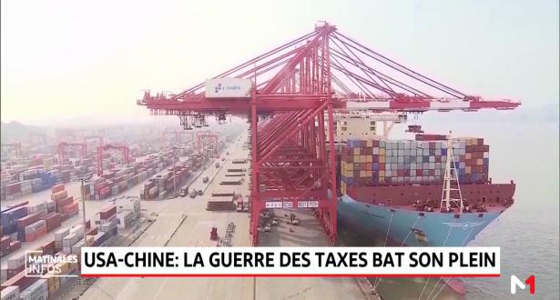 USA-Chine: la guerre des taxes bat son plein