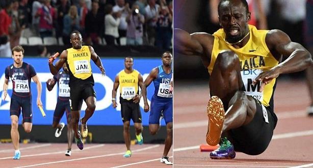 Mondiaux-2017: Bolt foudroyé dans sa dernière ligne droite