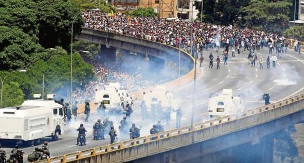 فنزويلا .. سقوط 76 قتيلا خلال المظاهرات المناهضة لحكومة الرئيس مادورو منذ أبريل الماضي