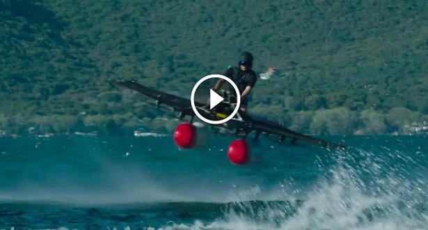 فيديو .. آخر إبداعات التكنولوجيا .. سيارة كهربائية طائرة!