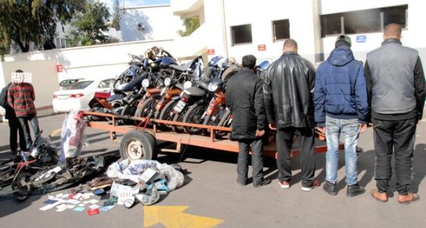 Benguerir: Arrestation d'une bande spécialisée dans le vol des motos