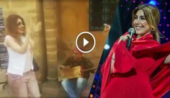 """فيديو .. الفنانة اللبنانية """"يارا"""" ترقص على إيقاعات موسيقى كناوة بالرباط"""