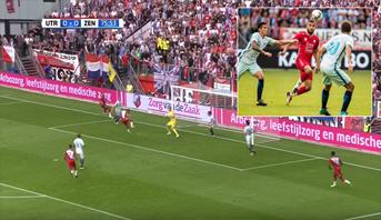 Utrecht s'impose face au Zenit grâce à un but du Marocain Zakaria Labyad