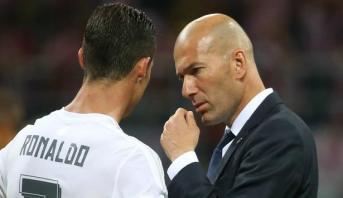 Zidane tenterait de dissuader Ronaldo de quitter le Real Madrid