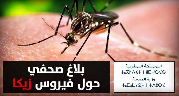 """فيروس """"زيكا"""" .. وزارة الصحة تصدر بلاغا توضيحيا وتعلن مجموعة من التدابير"""