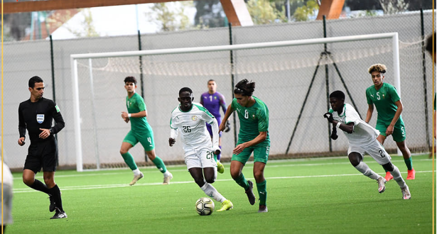 المنتخب الوطني لكرة القدم لأقل من 17 سنة ينهزم أمام نظيره السنغالي