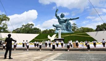 Japon : Nagasaki se recueille, 75 ans après le bombardement nucléaire américain