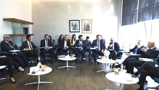 La CSMD poursuit ses séances d'écoute par une réunion avec la CGEM