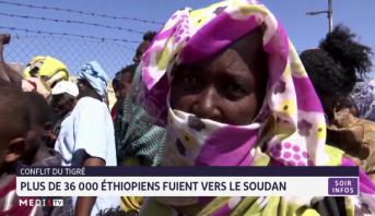 Conflit du Tigré: plus de 36 000 éthiopiens fuient vers le Soudan