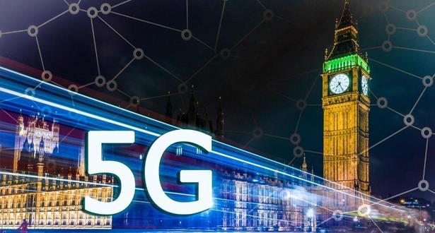 """شركة الاتصالات البريطانية """"إي إي"""" ستطلق شبكة الجيل الخامس بدون هواوي"""
