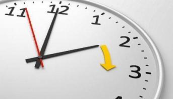 موعد إضافة ستين دقيقة إلى الساعة القانونية للمملكة