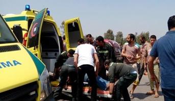مصرع 18 شخصا في حادث سير شرق القاهرة